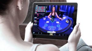 Tablet Live Dealer Casino Games
