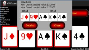 Android Video Poker Strategy App Expected Value